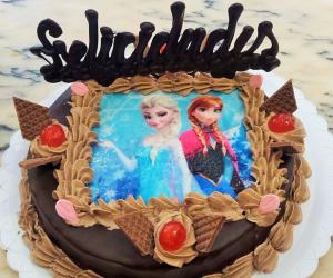 Tarta para niñas en Gijón